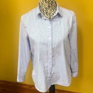 🔥3/$20.H&M long sleeve 100% cotton shirt.